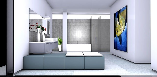 Bright Walk-in Shower for Small Space