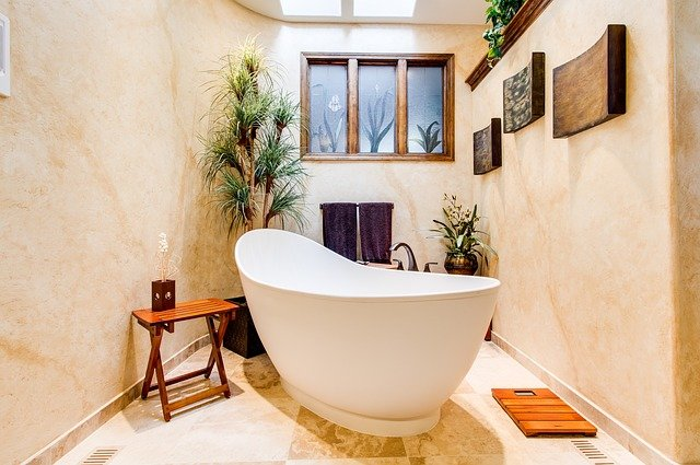 Bathroom with Carve Out Niche